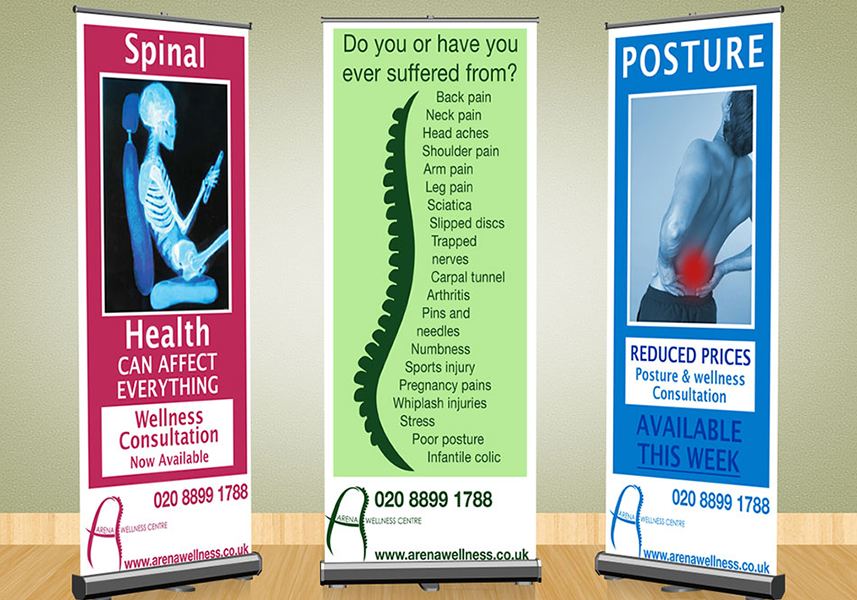 Chiropractor Roll Banners